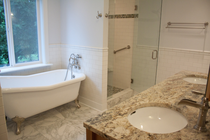 Remodeled Bathrooms With Clawfoot Tubs paris brothers construction - portland